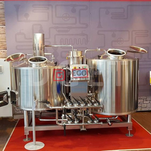 200L Home Brewing System Mini Brewery / restaurant / brewpub Apparecchiature per birra usate